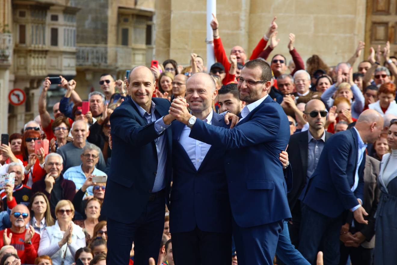Attivita-Partit-Laburista-Rahal-Gdid Muscat, Fearne and Abela