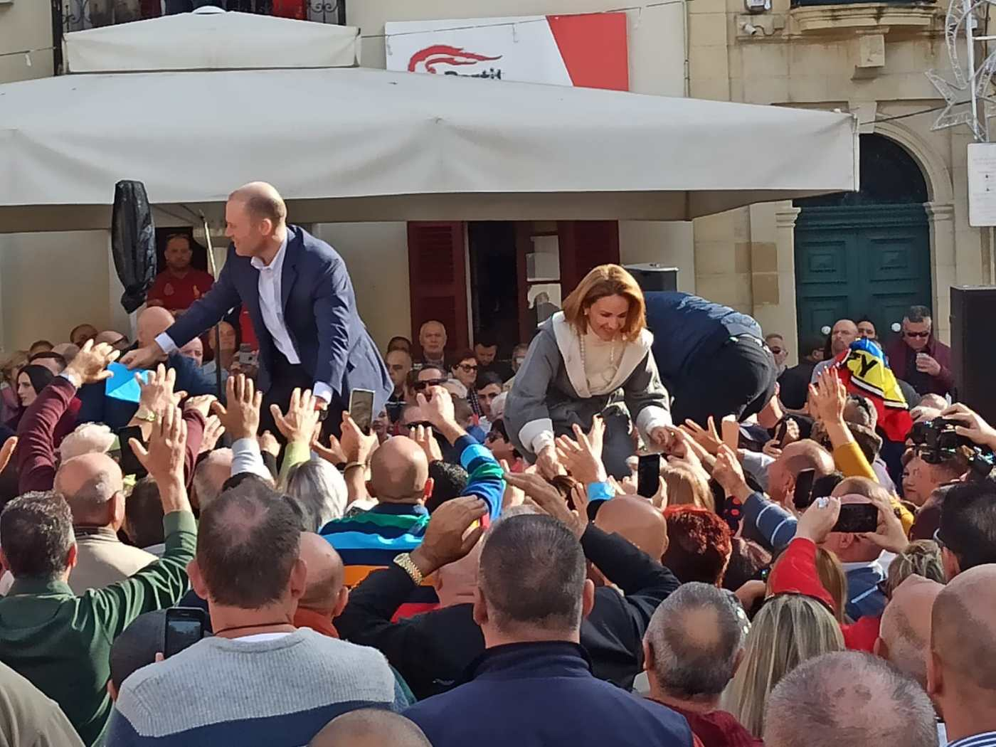 Joseph and Michelle Muscat final tour