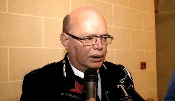 Police Commissioner Lawrence Cutajar