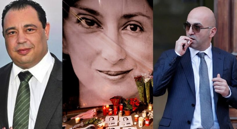 Police chief Silvio Valletta (left) had an apparently cozy relationship with Yorgen Fenech (right), who is accused of the murder of Daphne Caruana Galizia (center). (Image: Casino.org) Business tycoon Yorgen Fenech is Malta's wealthiest casino ow